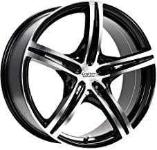 Cruiser Alloy Eclipse 18 Machined Black Wheel / Rim 5x112 & 5x4.5 with a 42mm Offset and a 73.1 Hub Bore. Partnumber 917MB-8755942
