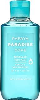 Bath and Body Works PAPAYA PARADISE COVE Micellar Body Wash 10 Fluid Ounce (2019 Edition)
