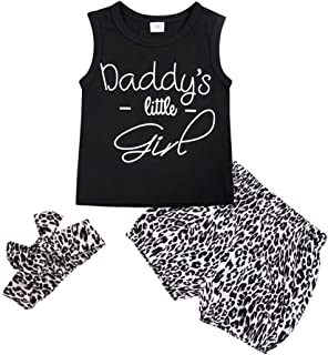 Baby Girls Outfits 3Pcs Sleeveless Short T-Shirt + Sunflower Floral Shorts Pants with Headband for Summer Infant Clothes Sets