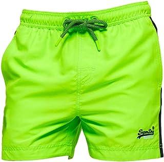 Superdry Beach Volley Swim Shorts - Sunblast Green