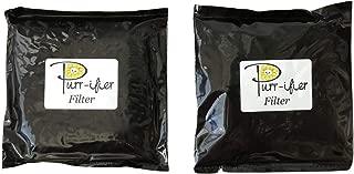 Purr-ifier Filters, 2 Pack, Replacement High Density Cat Litter Deodorizer