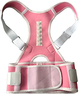 Magnetic Posture Corrector Underwear Back Braces Therapy Medical Corset Upper Lumbar Support Belt