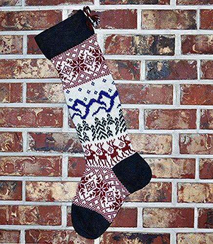 Very Cheap mail order sales popular Large Scandinavian Christmas Stocking