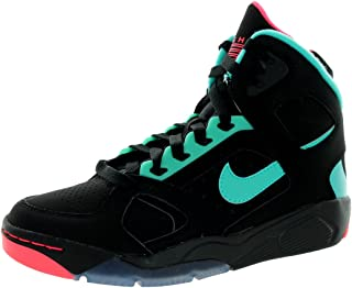Nike Kids Flight Lite (GS) Black/Hyper Jade/Hyper Punch Basketball Shoe 7 Kids US