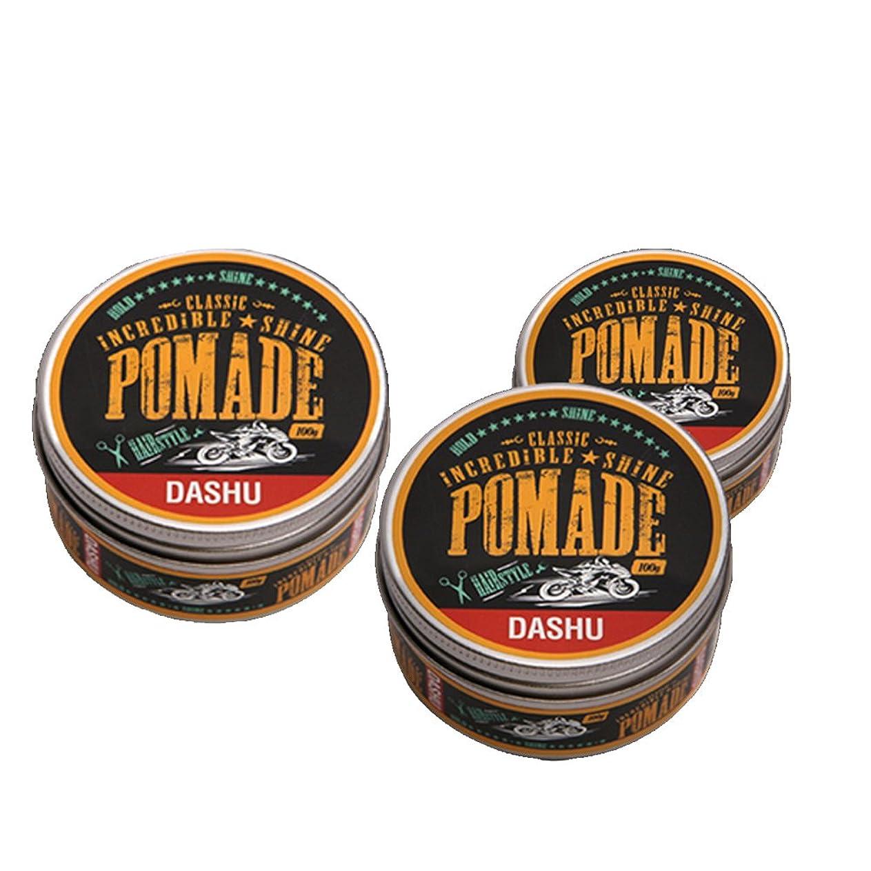 メナジェリーラッシュ成り立つ(3個セット) x [DASHU] ダシュ クラシック 信じられないほどの輝き ポマードワックス Classic Incredible Shine Pomade Hair Wax 100ml / 韓国製 . 韓国直送品