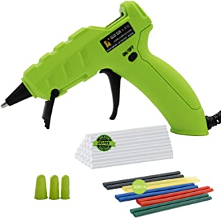 Hot Glue Gun 50W Professional High Temp Hot Melt Glue Gun Kit with Adhesive Sticks and Finger Protector for Arts Crafts School Home Repair DIY