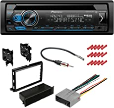 CACHÉ KIT2530 Bundle with Complete Car Stereo Installation Kit with Receiver - Compatible with 2012-2013 Ford Transit Connect – Single Din Radio Bluetooth CD/AM/FM Radio, Dash Mounting Kit (5Item)