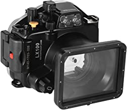 Andoer MEIKON Waterproof Camera Diving Housing Protective Case Cover Underwater 40m/ 130ft for Panasonic Lumix LX100