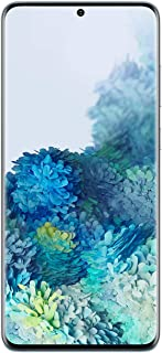 Samsung Galaxy S20+ 5G Factory Unlocked New Android Cell Phone US Version | 128GB of Storage | Fingerprint ID and Facial Recognition | Long-Lasting Battery | Cloud Blue