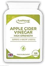 Apple Cider Vinegar 120 Capsules not Tablets or Liquid 60 Day Supply Made in The UK PureNatureA Estimated Price : £ 7,97