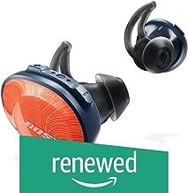 Bose SoundSport Free Truly Wireless Headphones - Bright Orange (Renewed)