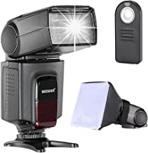 Neewer TT560 Speedlite Flash Kit for Canon Nikon Sony Pentax DSLR Camera with Standard..