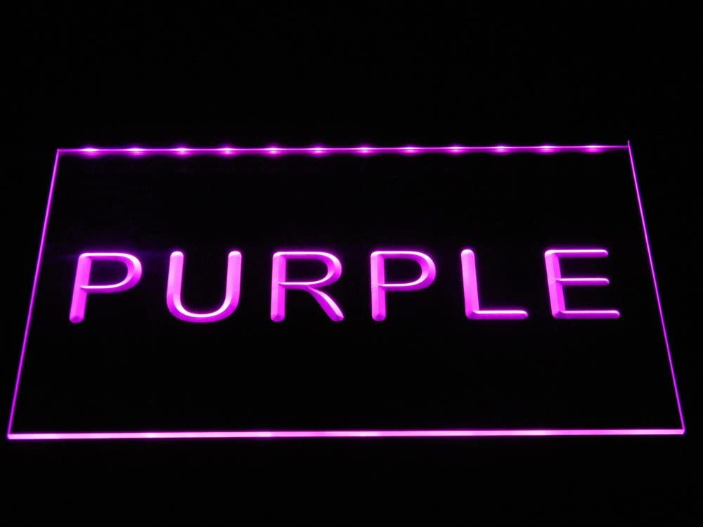 ADVPRO 商い Tattoo Butterfly Love Ink Open LED Purple 16 Neon Sign x 日本正規品