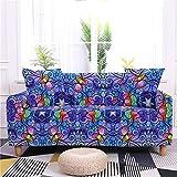 WSNBBEZ Funda elástica para sofá de 1 2 3 plazas, Impresión de...
