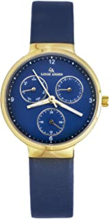 Louis Arden for Women Analog Leather Watch -LA5005L-BLU-BLU-GD