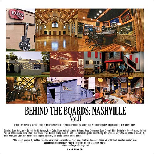 Behind the Boards: Nashville, Vol. 2 cover art