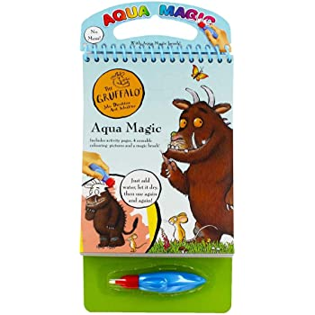 THE GRUFFALO ART /& CRAFTS COLOURING PAINTING SCRATCH STICKER BOOKS FUN KIDS TOY