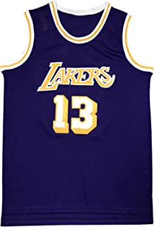 PANGOIE Men's Basketball Jerseys 13# Chamberlain Tracksuits Breathable Sleevless T-Shirts Vests Top