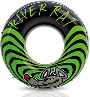 """Intex River Rat Inflatable Tube, Green [68209], 48"""" Diameter, for Ages 9+"""