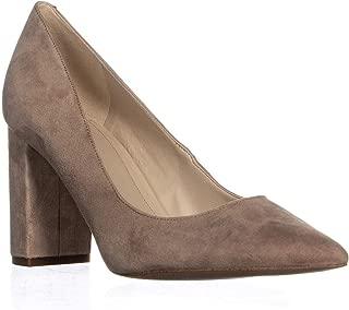 Marc Fisher Viviene Pointed Toe Heels, Light Natural Suede