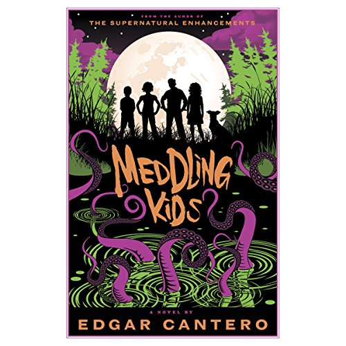 Meddling Kids audiobook cover art