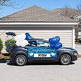 Blue 2021 Graduation Car Decorations Kit