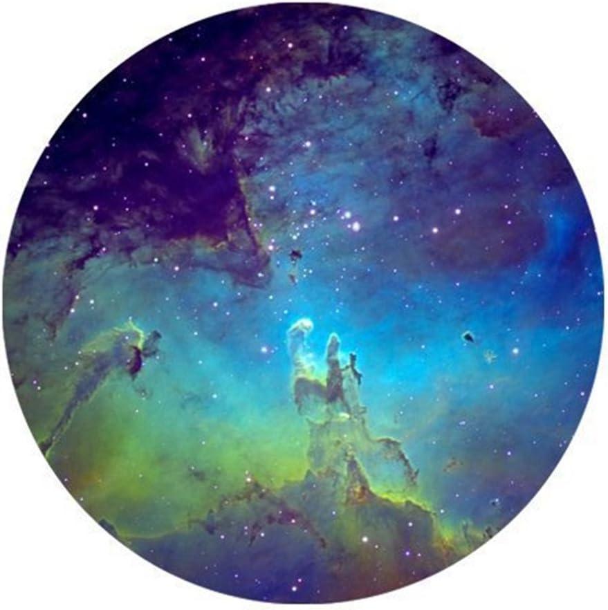Galaxy Nebula Quality inspection Space Starry Star Night Seasonal Wrap Introduction Round Sky Rubber Non-Slip