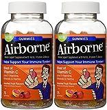 Airborne Gummies Blast of Vitamin C 75 Gummies(Pack of 2)