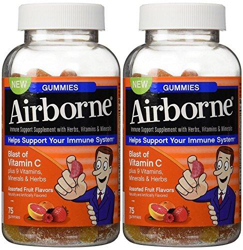 Airborne Gummies Blast of Vitamin C 75 Gummies