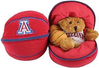 Plushland, Inc. Arizona Wildcats Stuffed Bear in a Ball - Basketball