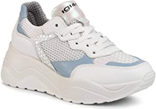 IGI/&CO 5157300 Bianco Sneakers Scarpe Donna Sportive City Pelle