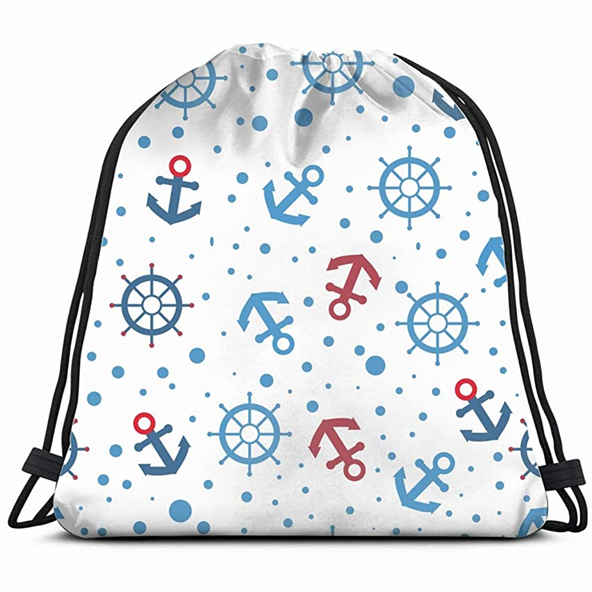 steering wheel pattern the arts nature Gym Sack Bag Drawstring Sport Beach Travel Outdoor Backpack for Women 17X14 Inch