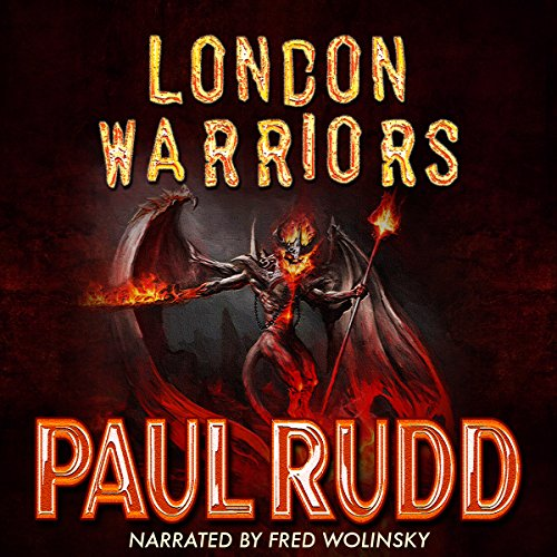 London Warriors audiobook cover art
