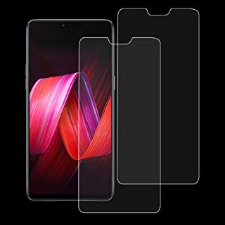 YINZHI Screen Protector Film, 2 PCS 9H 2.5D Tempered Glass Film for Oppo R15 / R15 Pro Clear