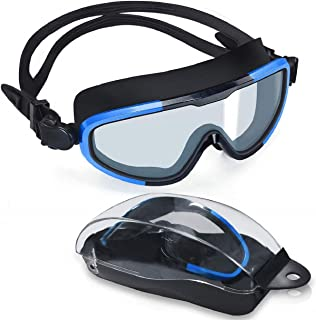 Letsfit Swim Goggles, No Leaking Anti-Fog Indoor Outdoor...