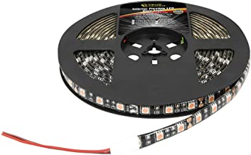 Grand General 70593 Premium Flexible 16ft 5050 LED Strip Light Waterproof For Interior Use- Red