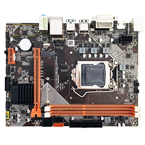 B75-M2 LGA1155 Socket M-ATX Placa base soporte tarjeta gráfica integrada VGA HDMI DVI SATA3 HDD M.2 NVME SSD DDR3 1600 1333 1066 MHz tarjeta de red Gigabit RJ49