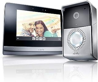 Somfy 2401446 V500 - Videoportero con captura de imágenes y control de hasta 5 dispositivos RTS, fácil instalación