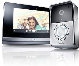 Somfy 2401446 I V500 Videophone, video-intercom met 7 inch touchscreen | Nachtzicht | Bedient tot 5 RTS-producten | Beeldg...