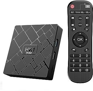 comprar comparacion 【Promoción】 Android 10.0 TV Box- Bqeel TV Box 4GB+64GB RK3328 Quad-Core 64bit Cortex-A53 con Dual-WiFi 2.4GHz/5GHz, BT 4.0...