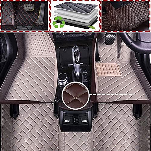 Alfombrilla De Coche Cuero Para Mazda Atenza 2013 2014 2015 2016 2017 2018 2019 2020(RHD) Cobertura Completa para Todo Clima Delanteras Traseros Esteras Moqueta Impermeable Antideslizante
