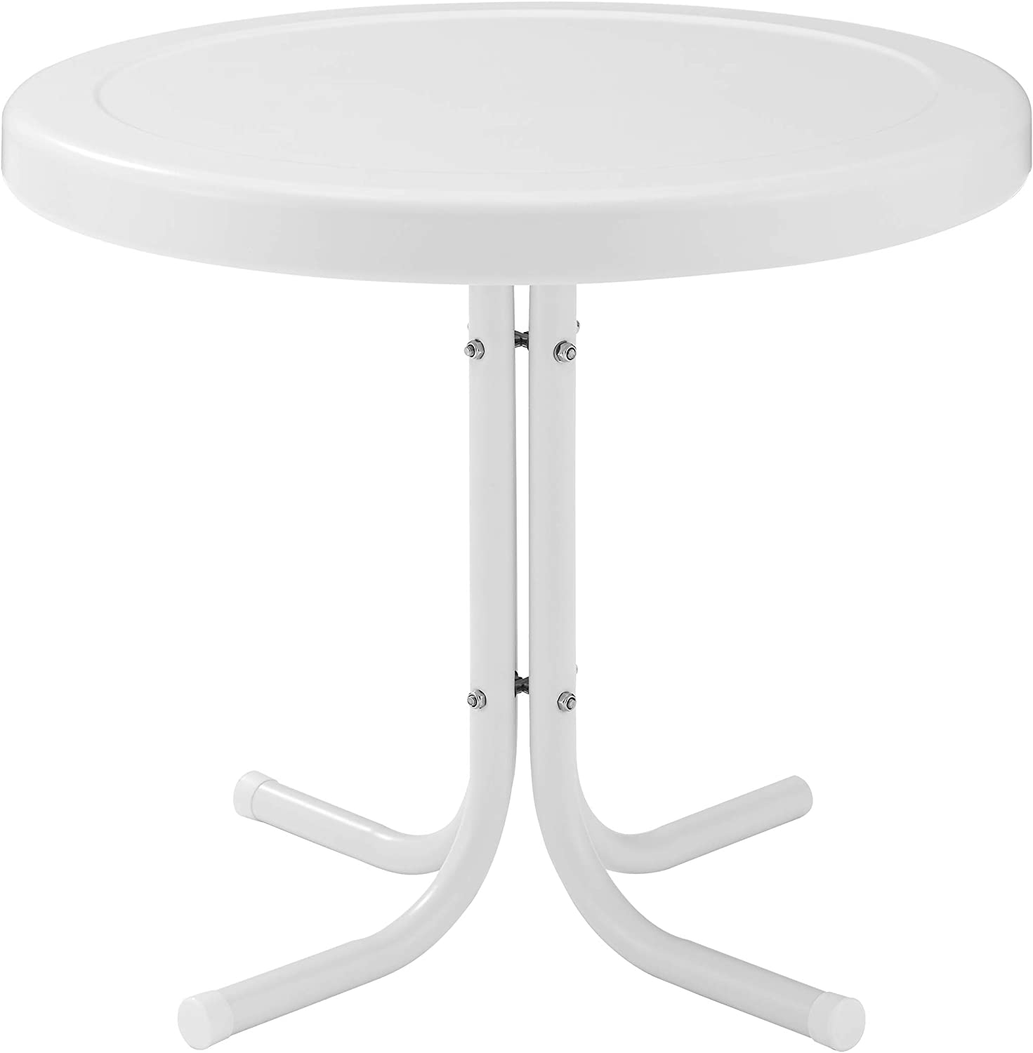 Crosley Furniture Gracie Retro 20-inch Side Translated shopping Table Outdoor Metal