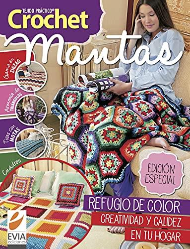 Crochet Mantas 1: Refugio de color y calidez en tu hogar (Tejido de Mantas nº 5)