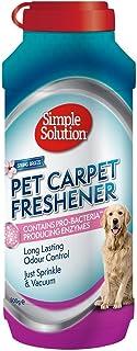 Simple Solution Refrescante De Alfombras para Mascotas con Gránulos De Limpieza Enzimática 1 Unidad 500 g