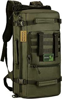 Huntvp 50L 3 Way Tactical Military MOLLE Assault Backpack Modular WR Bag