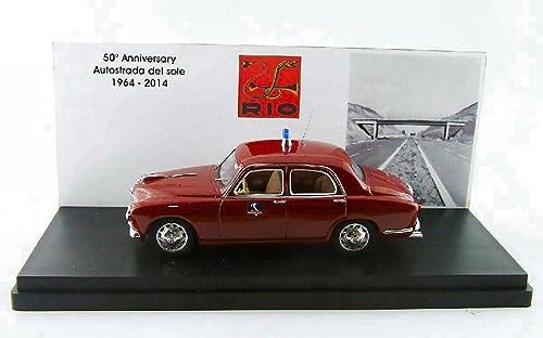 el más barato RIO RI19642 ALFA ROMEO 1900 POLIZIA AUTOSTRADALE AUTOSTRADALE AUTOSTRADALE 50 ANNIV.AUTOST.D.SOLE 1 43  A la venta con descuento del 70%.