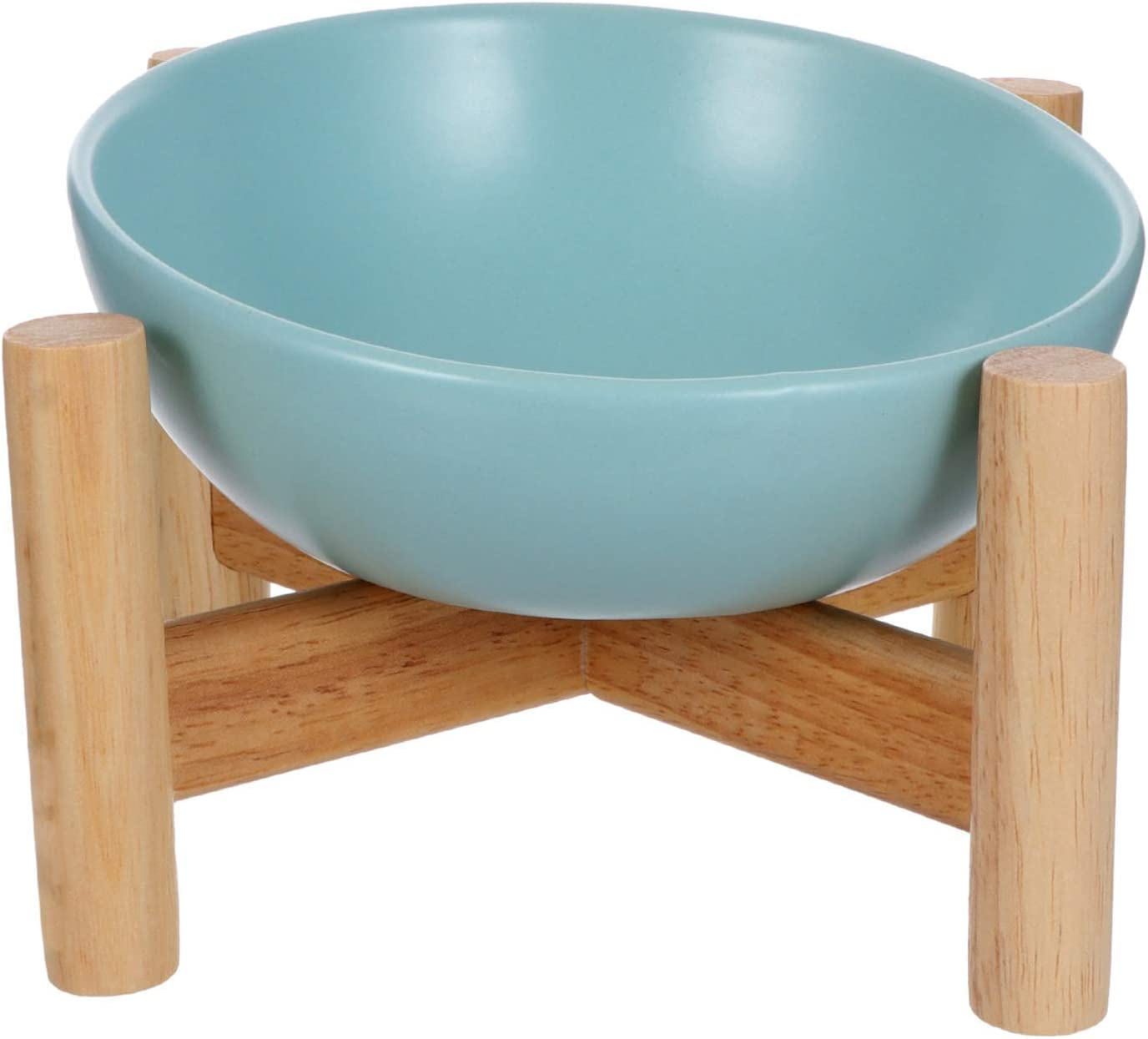 Raised Bowls for Pets Over item handling Ceramic Cats Dealing full price reduction with Wood St