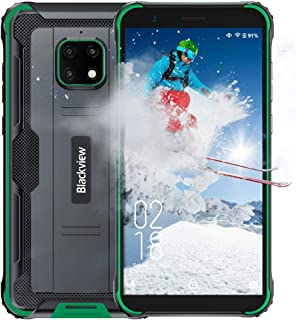 Móvil Resistente Blackview BV4900 Android 10 Impermeable Smartphone IP68, 3GB RAM+32GB ROM+SD 128GB, Battery Capacity 5580...