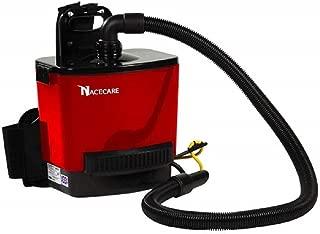 NaceCare RSV130 Back Pack Vacuum, 1.5 Gallon Capacity, 1.6HP, 114 CFM Airflow, 42' Power Cord Length