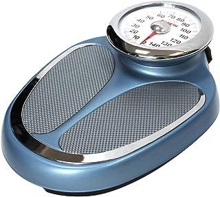 Básculas Mecánica baño - Azul Escala de Peso, pesaje de precisión, el Cuerpo Laminado en frío, sin Pila de botón /, Capacidad de Carga máxima de 200 kg / 440lbs